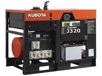 Máy phát điện Kubota 20kva J320
