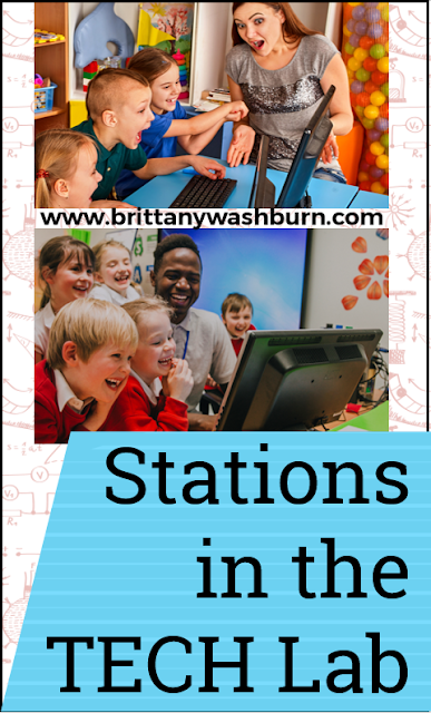 """We talk about learning stations all the time in the Technology Teacher Tribe Facebook Group. The question usually sounds something like """"I've been thinking about trying stations in technology class, but where do I start?"""""""