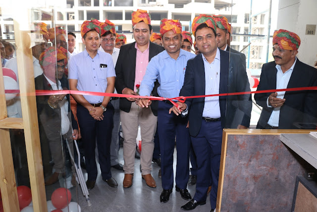 Mr. Kamlesh Patel, CMD, Asian Granito inaugurates first exclusive Greste...