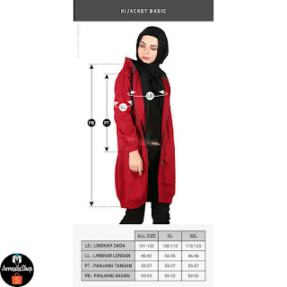 HJ18 Hijacket BASIC Turkish x Black JAKET HIJAB JAKET MUSLIMAH ORIGINAL PREMIUM FLEECE