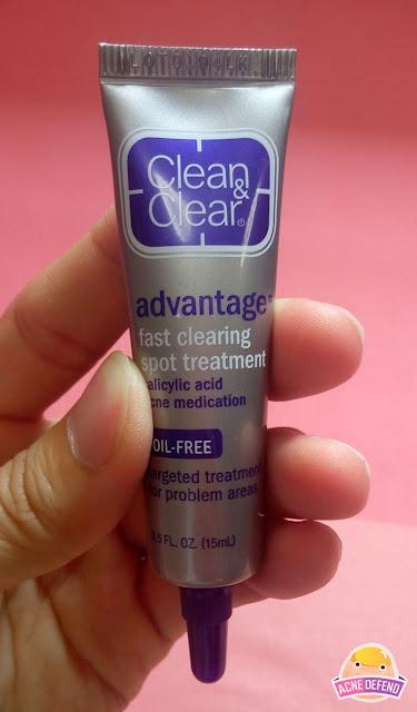 เจลแต้มสิว Clean & Clear ADVANTAGE Fast clearing spot treatment