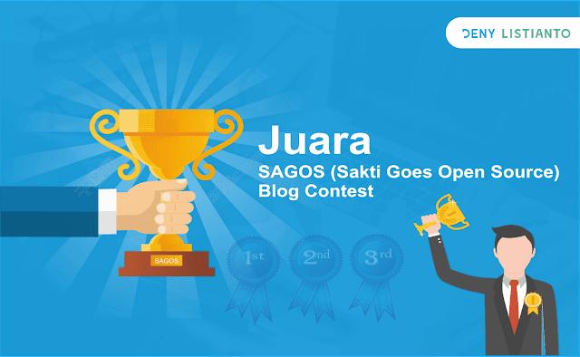 Juara SAGOS (Sakti Goes Open Source) Blog Contest