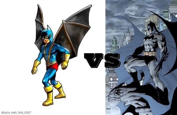 Sekedar Nulis: Jika Super Hero Indonesia Vs Super Hero Amerika