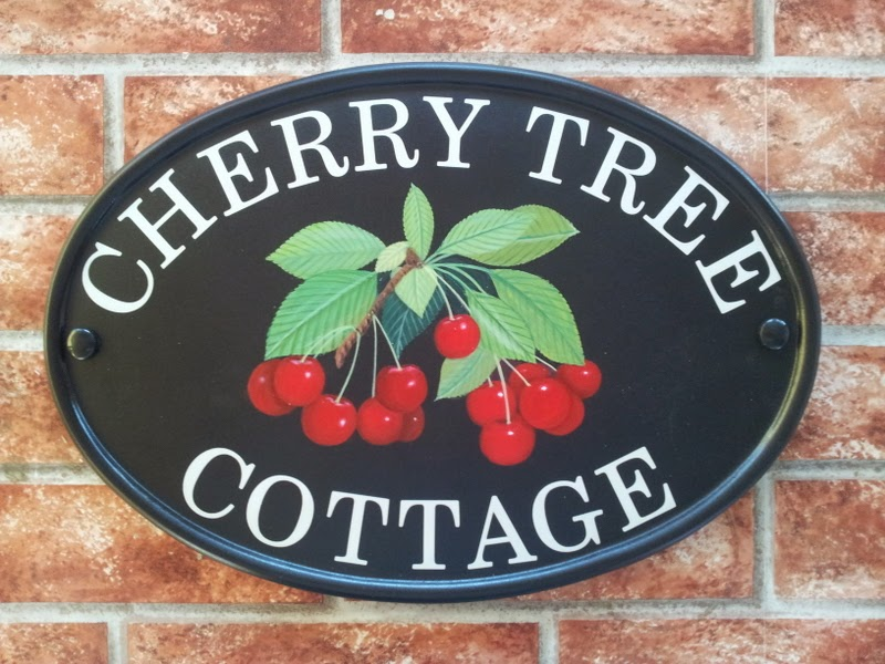 cherries-house-sign
