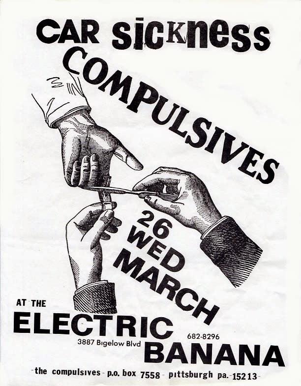 Electric Banana Pittsburgh: 1980