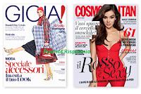 Logo GIOIA : ritira la copia omaggio + copia di Cosmopolitan