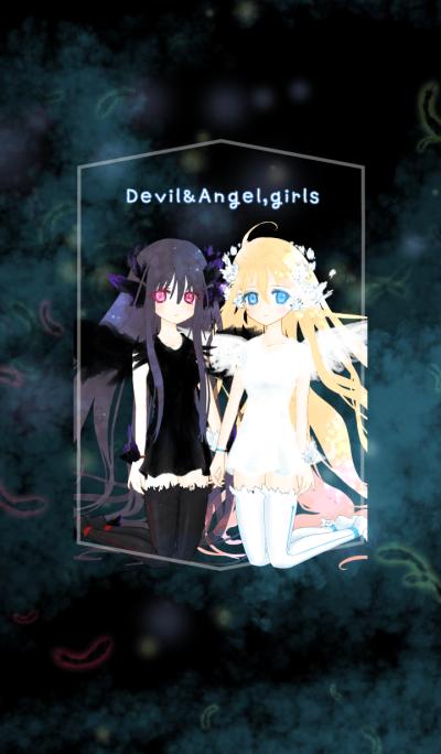 Devil&Angel,girls
