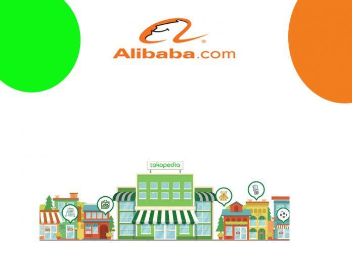 ilustrasi kerjasama tokopedia dan alibaba cloud hosting