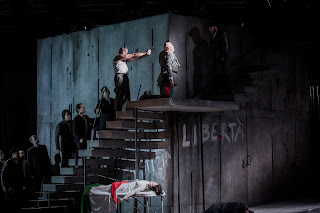 Montemezzi's L'amore dei tre Re - Opera Holland Park - photo Robert Workman