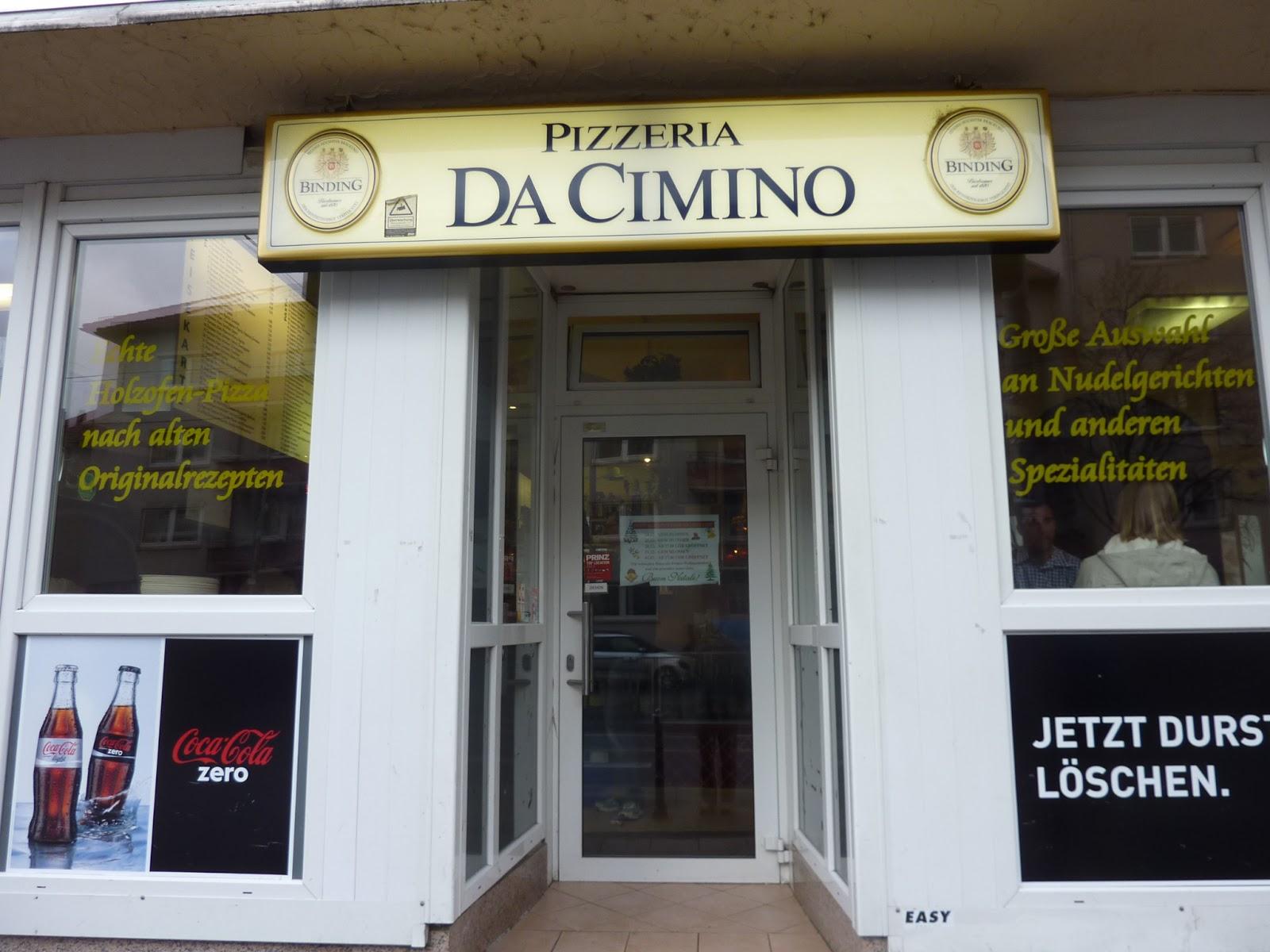 Wake Up Frankfurt Pizzeria Da Cimino I Dream Of Pizza