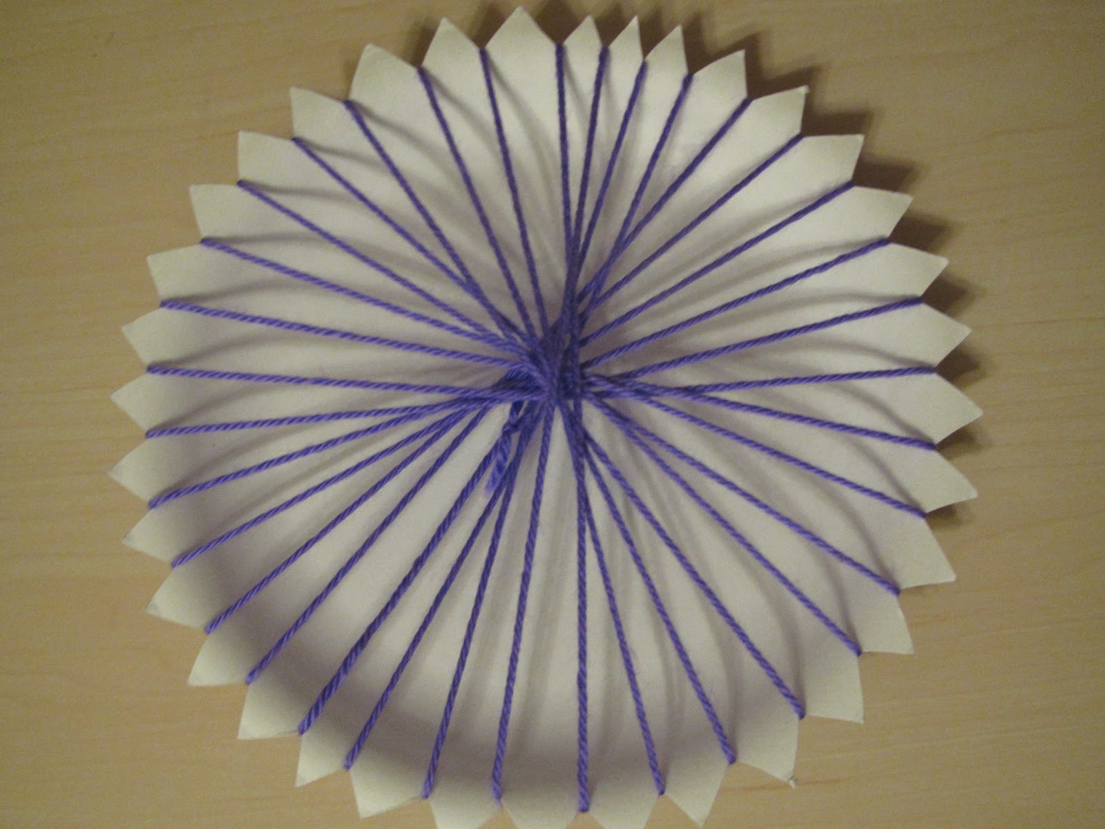 Paper Plate Weaving Step by Step & Paper Plate Weaving Step by Step - Lessons With Laughter