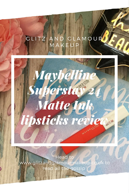 maybelline superstay 24 matte ink lipstick review pinterest