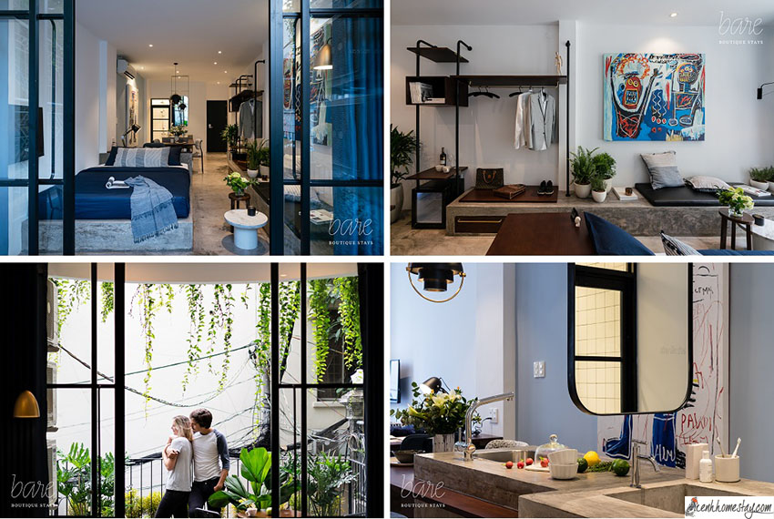 """Căn hộ homestay Bare Boutique Stays: Thiên đường sống ảo đẹp """"rụng tim"""""""