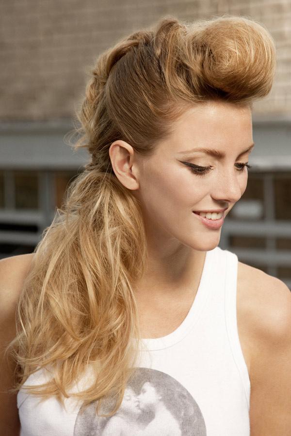 Frisuren Frauen Rockig Mittellange Haare