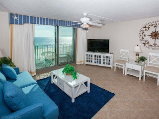 Perdido Tower Condo For Sale Pensacola FL Real Estate Unit 507 Living Room