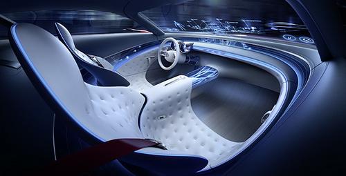 Tinuku.com Desain Mobil Vision Mercedes-Maybach 6 Digitalisasi Sedan Klasik Mewah