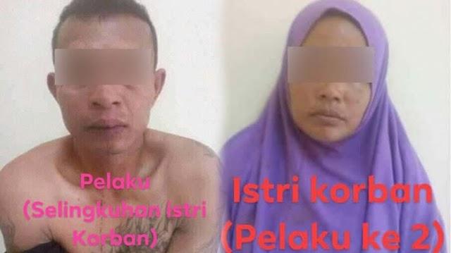 Bersekongkol dengan PIL Yang Lebih Muda Bunuh Suami Yang Lansia, Wanita di Aceh Terkejut Kejadian Tak Sesuai Rencana