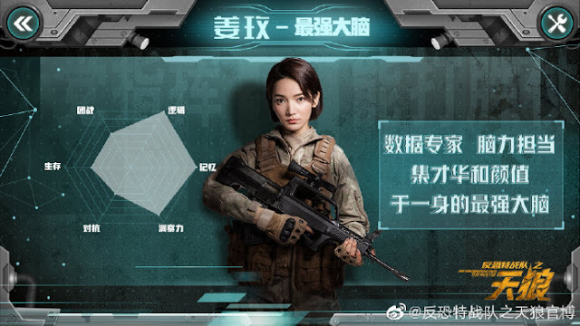 Anti-Terrorism Special Forces: The Wolves Daisy Dai Si