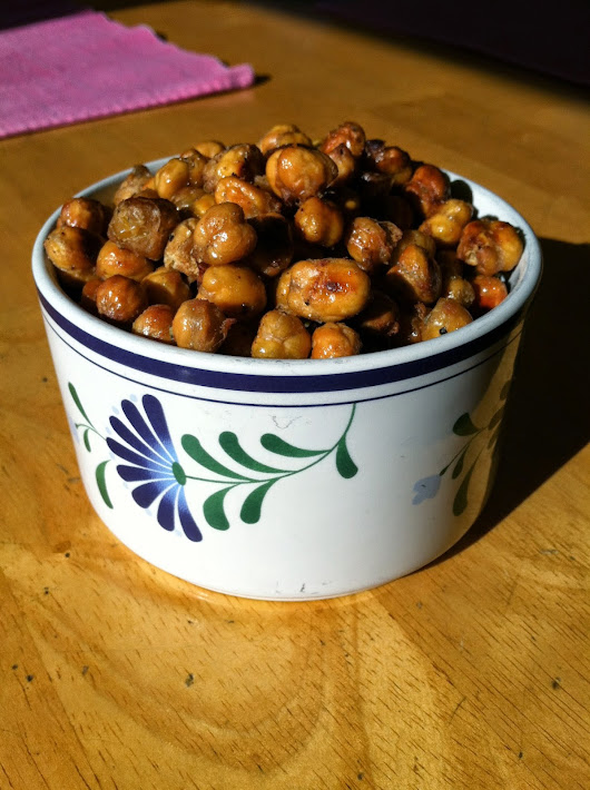 Roasted Garbanzo Beans