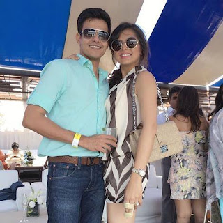 Drashti Dhami dengan Neeraj Khemka