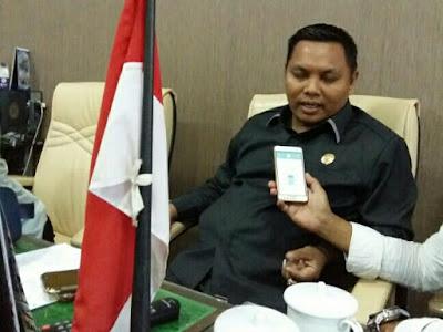 Ketua Komisi I DPRD Sikapi Geramnya Ketua KNPI Terhadap Pedagang Di Sekitar Arek Lancor Pamekasan
