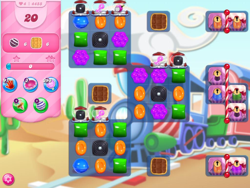 Candy Crush Saga level 4455