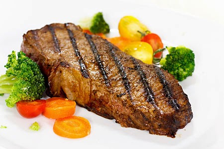 Grill Strips Steaks Recipe New Yorks Style