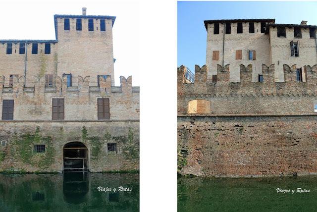 La Rocca Sanvitale de Fontanellato, Parma, Italia
