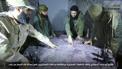al-jaulani komandan jabhah fath al-sham