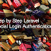 Step by Step Laravel Social Login Authentication
