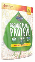 Garden of Life Organic Plant Protein Review Smooth Energy