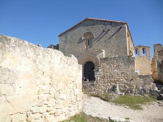 Iglesia. Vista desde el antiguo monasterio