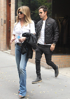 Jennifer Aniston and Justin Theroux New York
