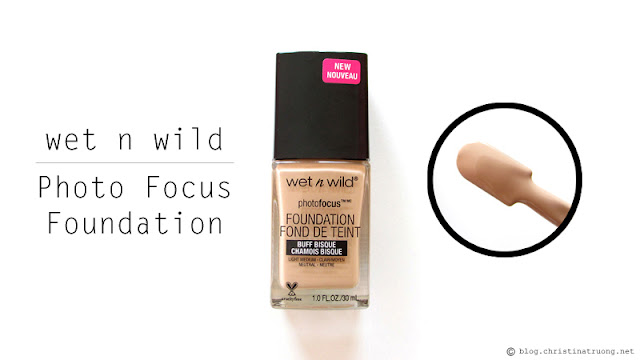 wet n wild Photo Focus Foundation 866C Buff Bisque Review
