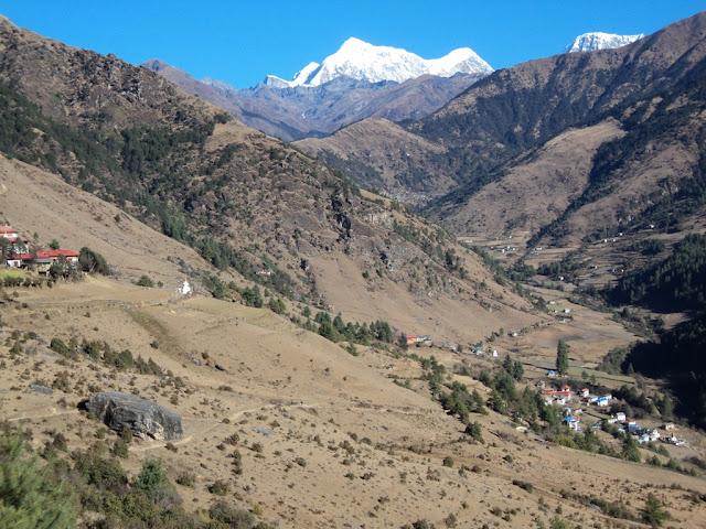 Junbesi village, on the way to Everest trekking from Jiri