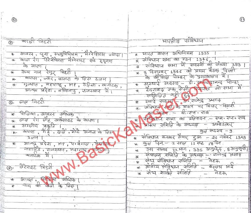 पर्यावरण- सामाजिक अध्ययन Notes- 10