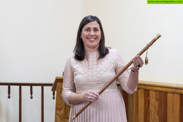 Goretti Pérez Corujo, nueva alcaldesa de Villa de Mazo