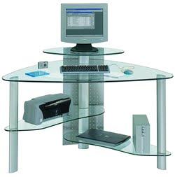 Interior Design Tips: Very Smart 3 X Black Glass Corner ...