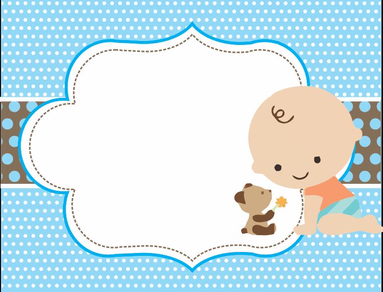 Famous Cartoncitos Personalizados: invitaciones baby shower de niño MX84