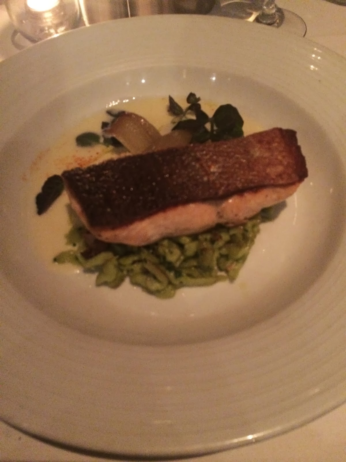 Eating Fabulously, Atlantic Grill at Lincoln Center, Christopher Stewart