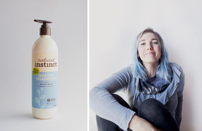 natural instinct vegan sensitive shampoo
