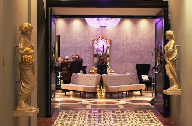 Elegantes Lifestyle Hotel im Museumsquartier Wien © Copyright Monika Fuchs, TravelWorldOnline