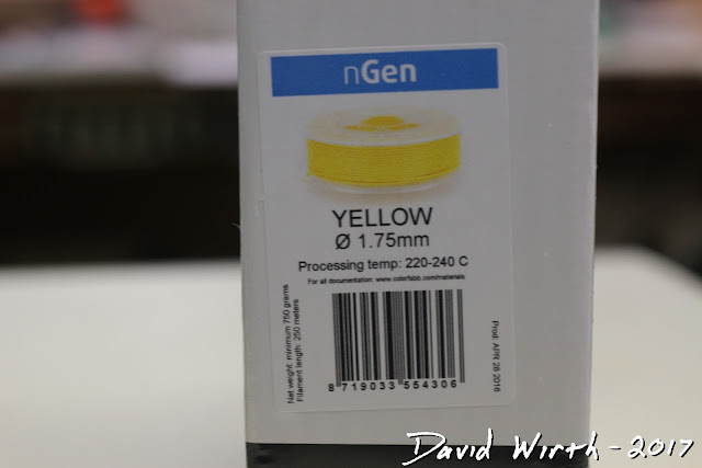 colorfabb ngen yellow, cost, price, shipping