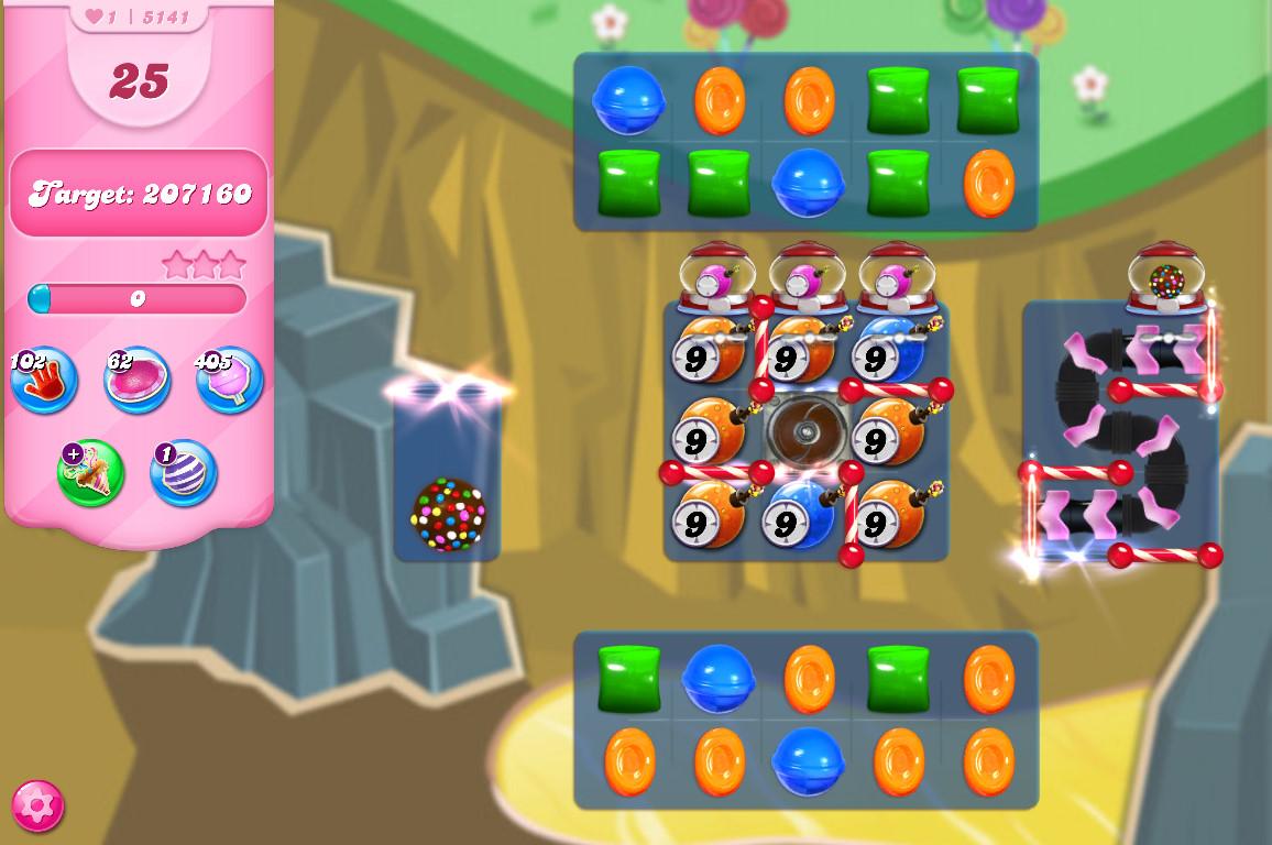 Candy Crush Saga level 5141