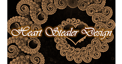 Won Dec' Heart Stealer Design Badge