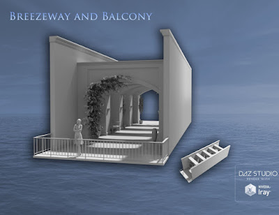Breezeway and Balcony