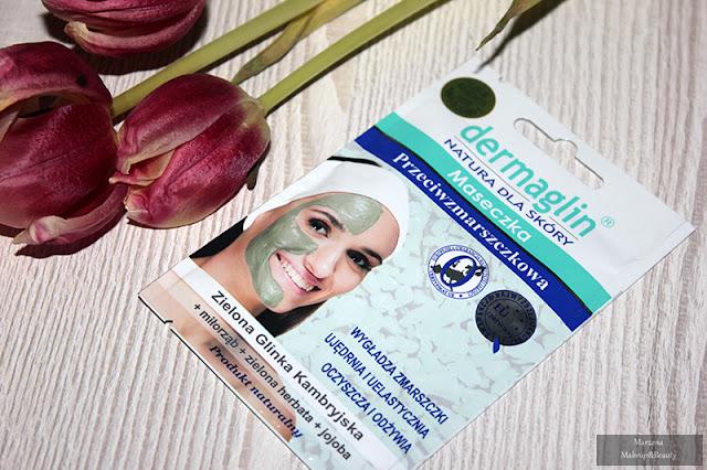 dermaglin maska przeciwzmarszczkowa