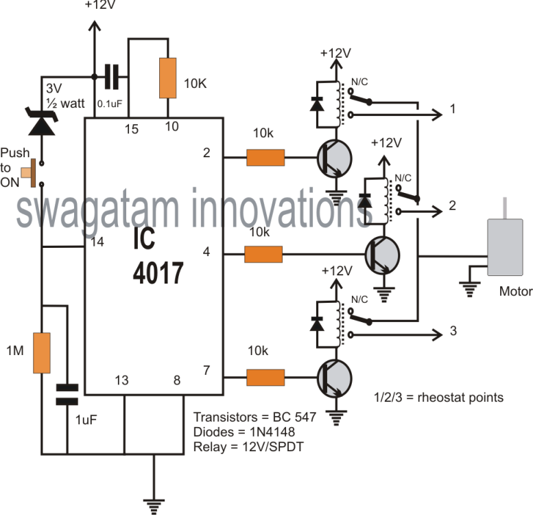 electronic step relay