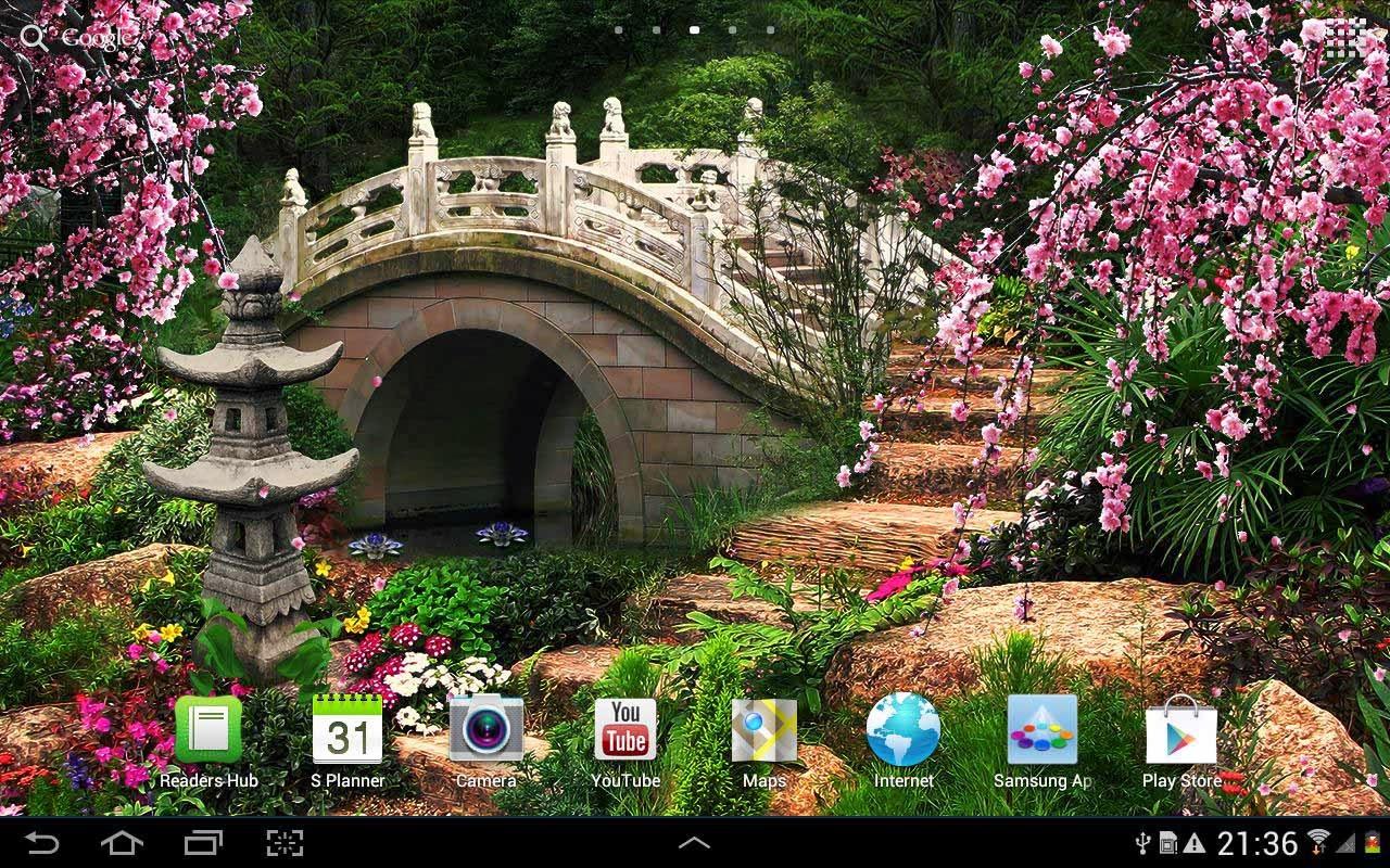 chinese garden wallpaper in hd - photo #22