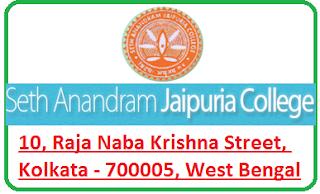 Seth Anandaram Jaipuria College, 10, Raja Naba Krishna Street, Kolkata - 700005, West Bengal